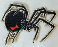 BLACK WIDOW SPIDER  EMBROIDERED PATCH P176 iron on sew biker JACKET patches NEW
