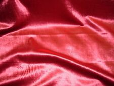 "~8 7/8 YDS~""RED WINE"" OPULENCE VELVET~BRUSHED VELVET UPHOLSTERY FABRIC FOR LESS~"