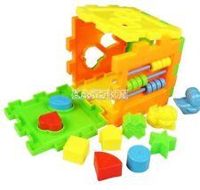 Baby Spielzeug Set Kinder Pädagogische Holzspielzeug Farbenreich Blöcke und