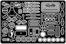 MODEL CAR GARAGE 2107 1956-57 CHEVY CORVETTE DETAIL SET FOR AMT KIT (PHOTO ETCH)