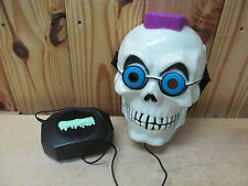 Vintage 1996 Curly Skeleton Goosebumps Mask w/ Voice Changer Changing Box