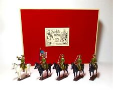 Mignot United States Army Cavalry 1917 Casque World War I 10 Pieces Toy Soldier