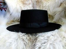 JIM BRIDGER Fur Trade/Mountain Man Reenactment Hat (Black)
