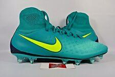 NEW Nike Magista Orden II FG RIO TEAL VOLT 843812-375 sz 11 CLEATS