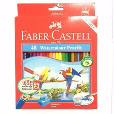 Faber-Castell 48 Water Color Pencil Sketch Craft Kid Art Drawing Manga Anime