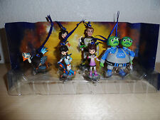 Disney Authentic Miles from Tomorrowland Christmas Ornaments 6pc Figure Set NEW