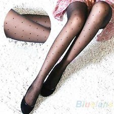 Women's Lady Hot Sheer Lace Small Dot Pantyhose Tights Sock Stockings Slim BHAU