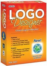LOGO DESIGNER Software--PC & Mac---Design Logos in Minutes------brand new