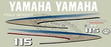 Yamaha Qutboard Motor Decal Kit 115 HP 4 Stroke Kit,  (+ Avail. in 150 and 225)