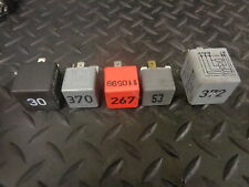 1999 AUDI A6 1.8T SET OF 5 RELAYS ECU/GREY RELAY/AIR CON/MULTI USE/FUEL PUMP