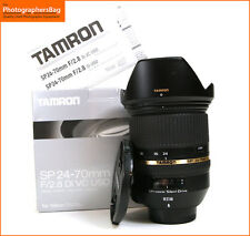 Tamron SP 24-70mm f2.8 Di VC  USD Lens for Nikon Cameras + Free UK Postage