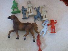 Lot Schleich+ Lesieur-Roche aux fées- Legal-Anciennes figurines