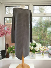 Splendido * Great Plains * LONG CARDIGAN GRIGIO con un tocco di Angora Sz XS