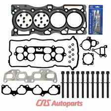 Fits NISSAN ALTIMA SENTRA SE-R 2.5L DOHC 16V EQR25DE HEAD GASKET HEAD BOLT SET
