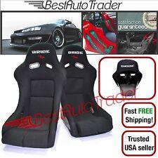 BRIDE VIOS 3 III Racing Seat Pair Black Seats Low Max Bucket JDM