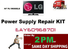 LG Repair KIT [Power Board] EAY60968701/ EAX61397101 No Picture - clicking FIX