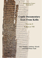 Iain Gardner-Coptic Documentary Texts From Kelli  BOOK NUOVO