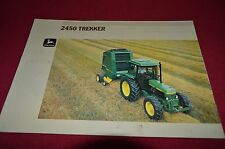 John Deere 2450 Tractor Trekker Dealer Brochure ALIL3 In German