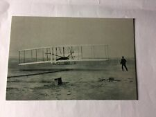 Wright Brothers First Powered Flight London Science Museum unused Postcard
