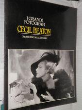 CECIL BEATON Fabbri 1982 I grandi fotografi libro manuale corso tecnica di