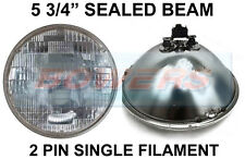 "5.75"" GENUINE SEALED BEAM INNER HEADLIGHT HEADLAMP UNIT FOR CLASSIC CARS SB5712"