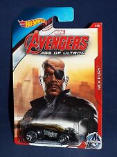 Hot Wheels 2015 Wal-Mart Avengers Age of Ultron 1/8 Nick Fury Ultra Rage