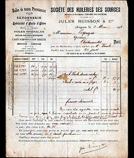 """AVIGNON (84) SAVON & HUILE d'OLIVE / HUILERIES des SOURCES """"Jules BUISSON"""" 1902"""