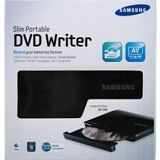Samsung SE-208DB/TSBS 8X External Slim USB Portable DVD Writer CD Burner Drive