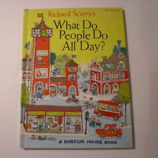 Richard Scarry's What Do People Do All Day? Abridged Edition, Library Binding