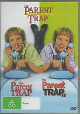 THE PARENT TRAP 1 & 2 HAYLEY MILLS NEW SEALED ALL REGION DVD