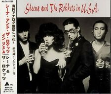 SHEENA AND THE ROKKETS IN U.S.A. CD JAPAN 1ST PRESS ALCA-5229 s4214