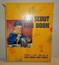 Vintage 1964 Cub Scout Fun Book things a boy can do to earn arrow point credits