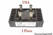Diode Bridge Rectifier by LP 100A Amp 1200V Volt  Metal 4 pin leg - USA 1 Piece