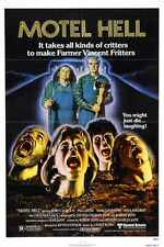 Motel Hell Poster 01 Metal Sign A4 12x8 Aluminium