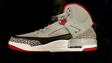 NEW Nike 315371 003 SZ 17 Air Jordan Spizike Retro VI Grey/Red/Black SB50392