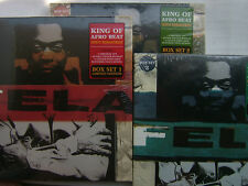 SEALED NEW / LOT OF 3 BOX SET / FELA KUTI KING OF AFRO BEAT  SEILL SEALED BUT HA