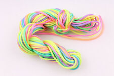 15m Nylon Thread Braided Cords 1.5mm DIY Jewelry Making Bracelet Multicolored