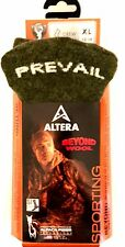 "ALTERA SPORTING ""PREVAIL"" 1-PR ALPACA HI-PERFORMANCE SOCKS OLIVE FIT 12-14 SHOE"