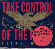 B.G. The Prince Of Rap Take Control Of The Party CD Single MAW & Louie Vega Mxs