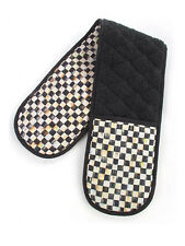 Mackenzie Childs COURTLY CHECK DOUBLE POT HOLDER NEW $65