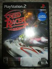 Speed Racer: The Videogame  (Sony PlayStation 2, 2008) PS2 Complete