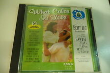 WHAT COLOR IS LOVE CD GLORIA JONES TOM JONES DAVID BOWIE GARY MOORE THE TURTLES.