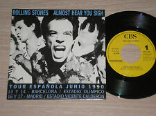 "ROLLING STONES - ALMOST HEAR YOU SIGH - RARO 45 GIRI 7"" PROMO TOUR 1990 SPAIN"