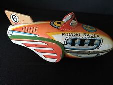 1950's Tin Plate Rocket Racer-Collectable