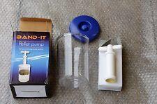 Band It Carp Fishing Bait Pellet Pump Match Expander Pellets  QUALITY CLEAR ONE