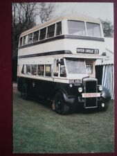 POSTCARD BIRMINGHAM CITY TRANSPORT DAIMLER CVA6 BUS AT SANDWELL VEHICLE RALLY 19