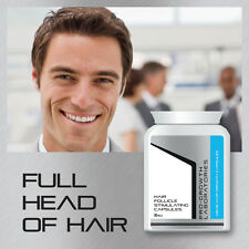 PRO-GROWTH MENS HAIR GROW CAPSULES HAIR GROWTH TABLETS STOP HAIR LOSS BALD