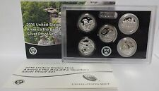 2016 National Park ATB Quarters Silver Proof Set - United States Mint - PST