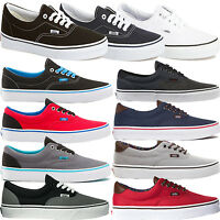 VANS AUTHENTIC MENS WOMENS GIRLS BOYS CANVAS PLIMSOLLS SHOES (NEW 100% ORIGINAL)
