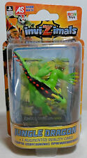 IMC TOYS INVIZIMALS JUNGLE DRAGON ACTION FIGURE +AUG REALITY CARD EUROPEAN MOSC